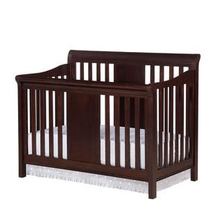 Baby Relax Tamryn Black Cherry 4-in-1 Convertible Crib