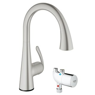 Grohe Ladylux Touch Zedra Touch Spray Super Steel