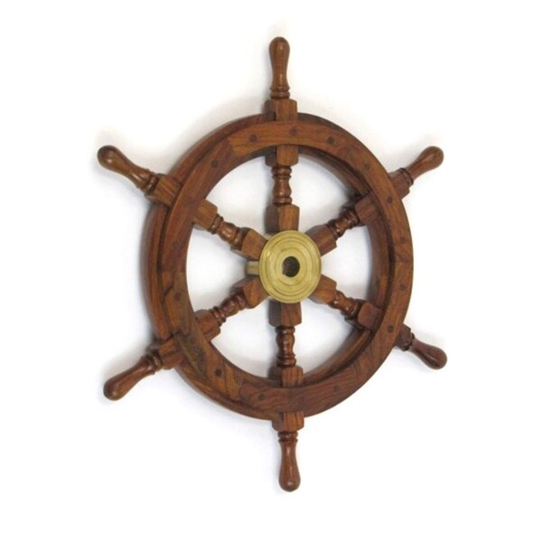 Bilbao Decorative Ship Wheel