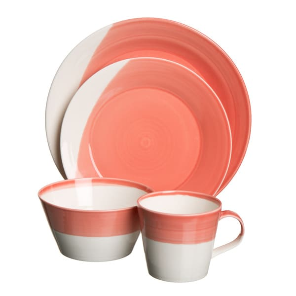 Royal Doulton 1815 Red 16-piece Place Setting