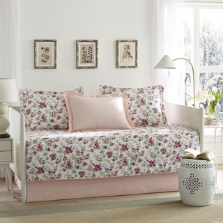 Laura Ashley Dorthea 5-Piece Quilted Daybed Cover Set