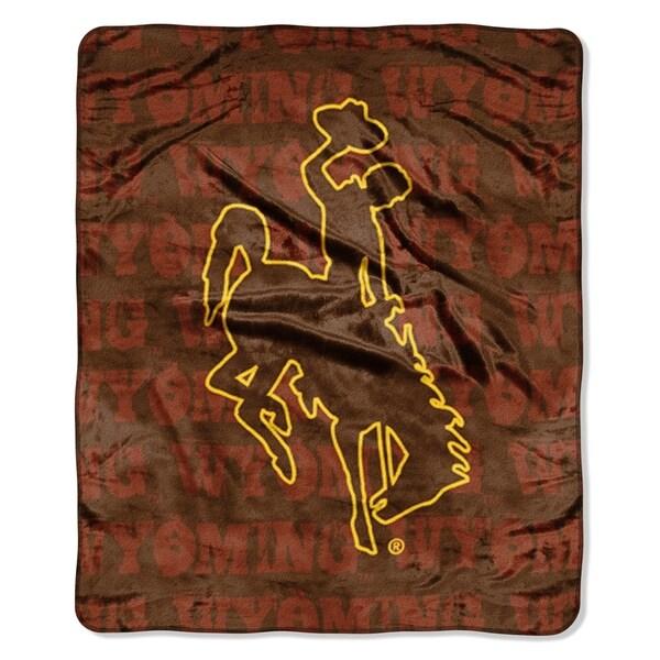 Wyoming Grunge Micro Fleece Blanket