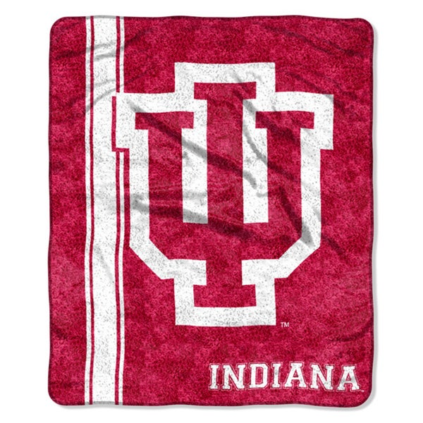 Indiana Sherpa Throw Blanket