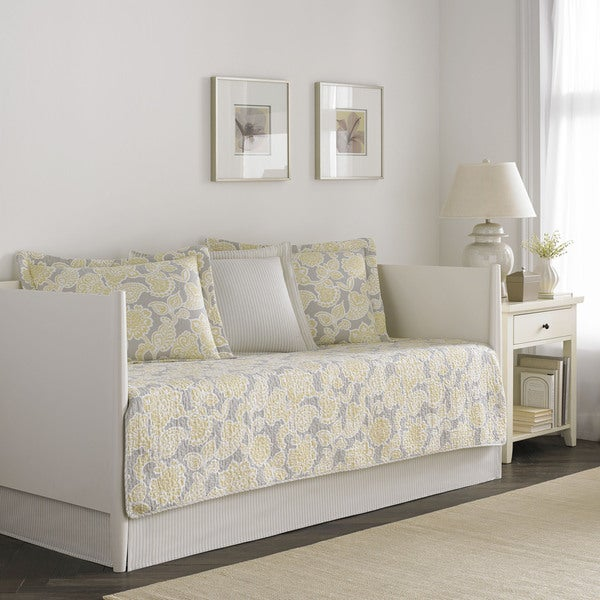Laura Ashley Joy 5 Piece Quilted Daybed Cover Set