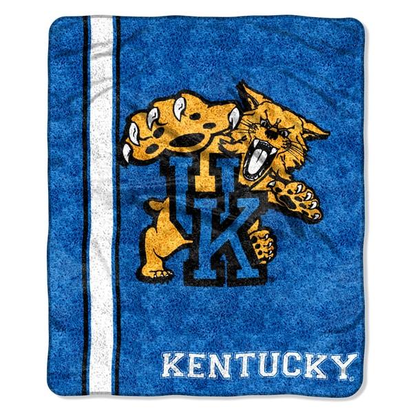 Kentucky Sherpa Throw Blanket