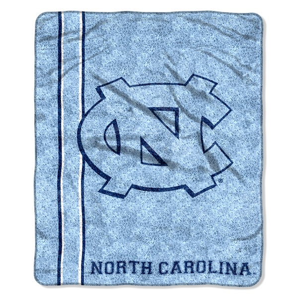 UNC Sherpa Throw Blanket
