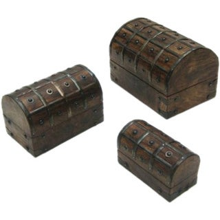 Debrecen 3-piece Nested Pirate Chest Set