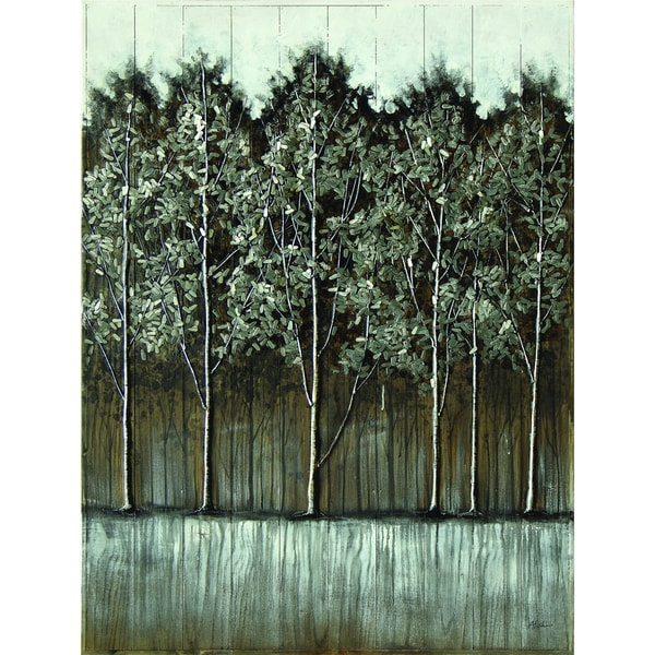 Grey Landscape Original Hand painted Wall Art