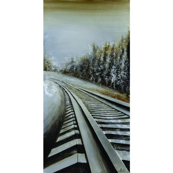 Long Commute Original Hand painted Wall Art