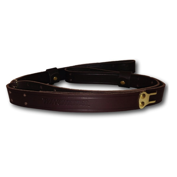 Winchester Leather Military Sling, Dark Brown