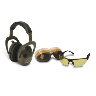 Walkers Alpha Muff/Shooting Glasses Combo