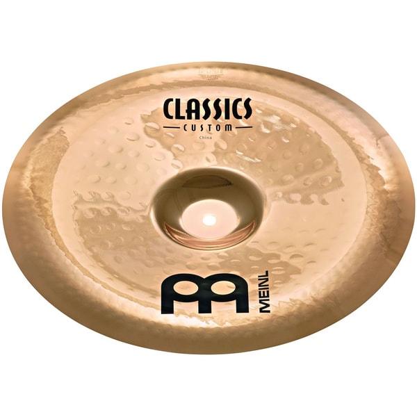 Meinl Cymbals CC18CH-B Classics Custom 18-inch Brilliant China Cymbal