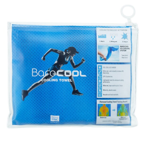Barocool Sports Medium/ Blue Cooling Towel