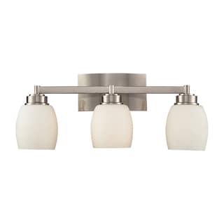 Northport 3-Light Satin Nickel Vanity