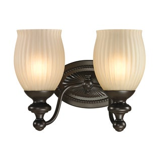 Park Ridge 2-light Oil Rubbed Bronze Bath Fixture