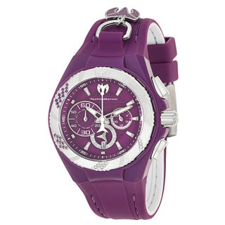 TechnoMarine Women's Cruise Stainless Steel Quartz Purple Watch