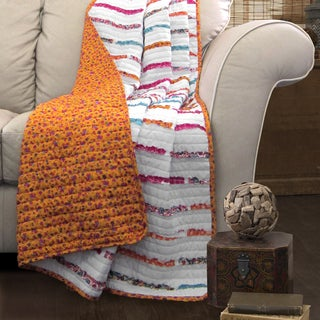 Lush Decor Umbria Throw Blanket