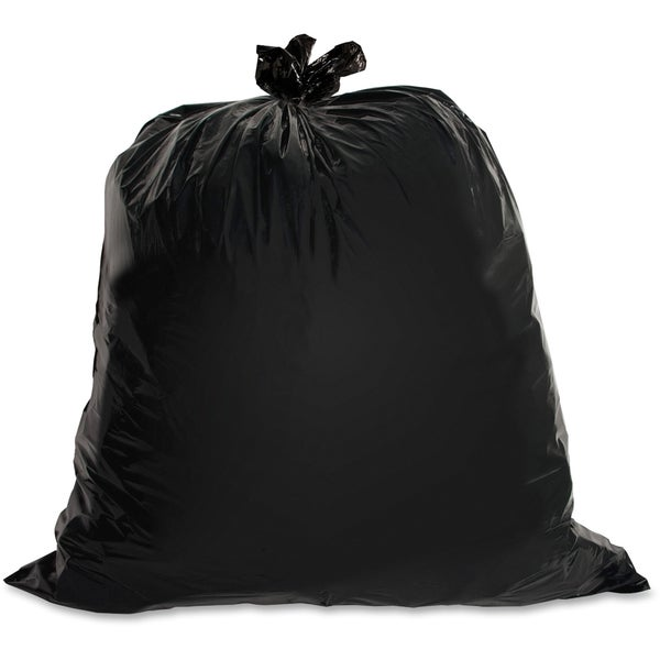 Genuine Joe Heavy-duty Black Trash Bag (Box of 100)