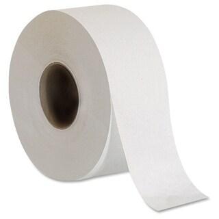 Genuine Joe Embossed Jumbo Roll Bath Tissue (Pack of 8)