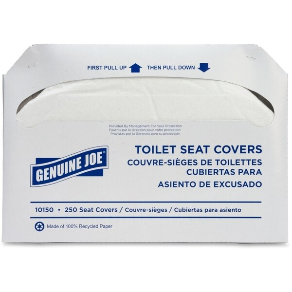Genuine Joe Toilet Seat Cover (Box of 250)
