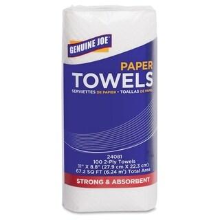 Genuine Joe 2-ply Household Roll Paper Towels (Pack of 24)