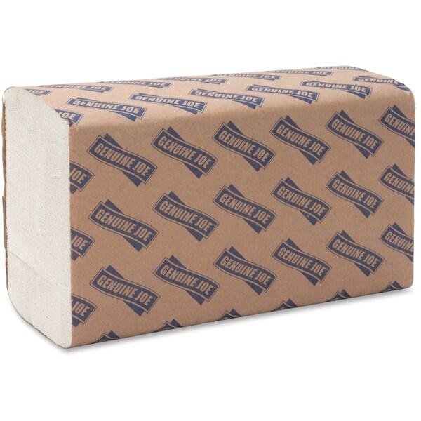 Genuine Joe Multi-fold White Paper Towel (Pack of 16)