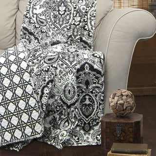 Lush Decor Aubree Quilted Throw Blanket