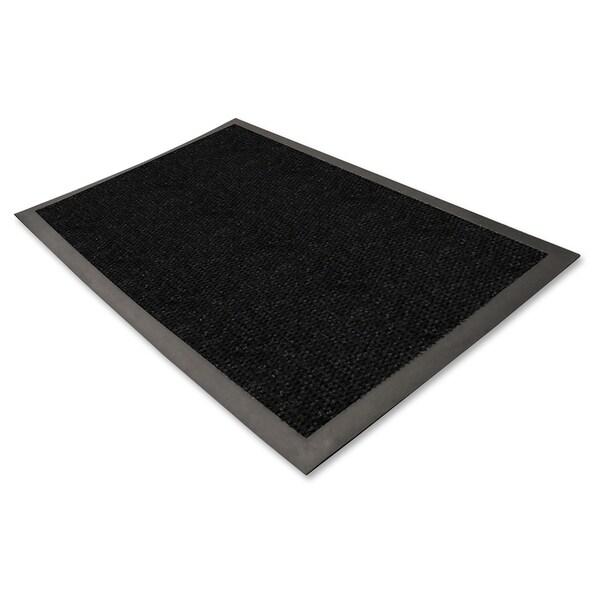 Genuine Joe Charcoal Black Waterguard Mat