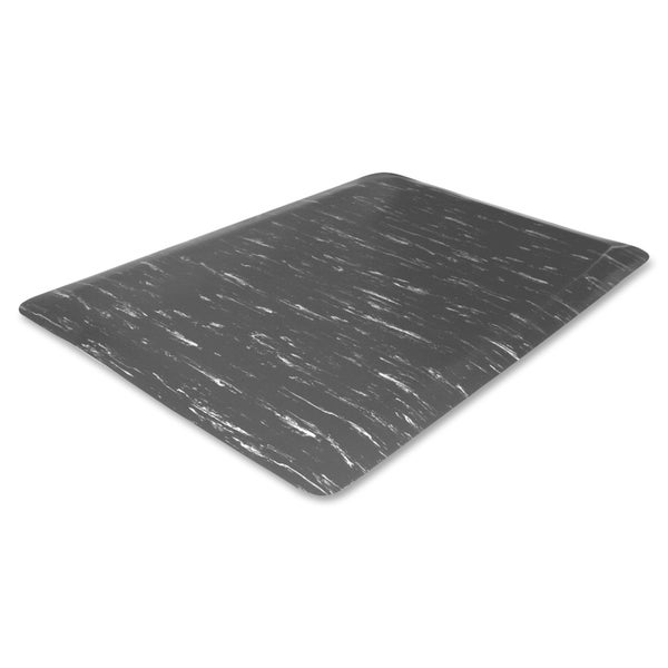 Genuine Joe Air Step Grey Marble Anti-Fatigue Mat