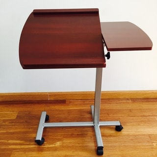 Premium Wood Laptop Adjustable Desk Stand - Cherry