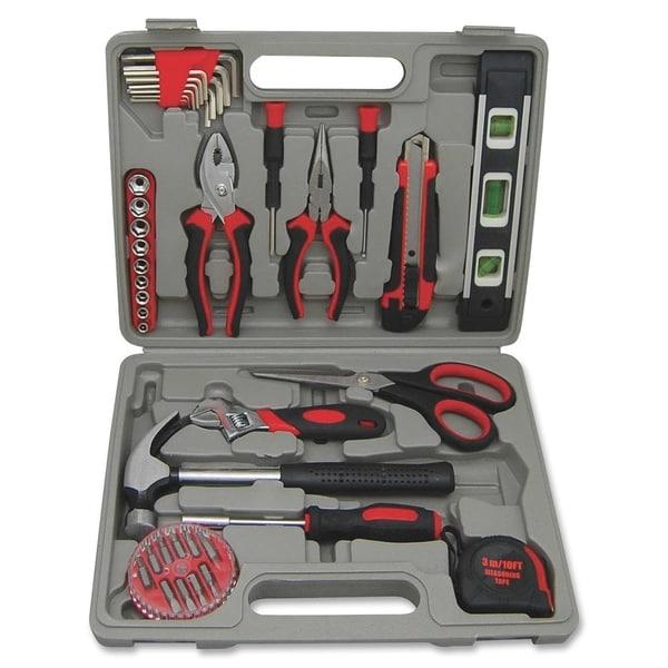Genuine Joe 42-piece Tool Kit with Case