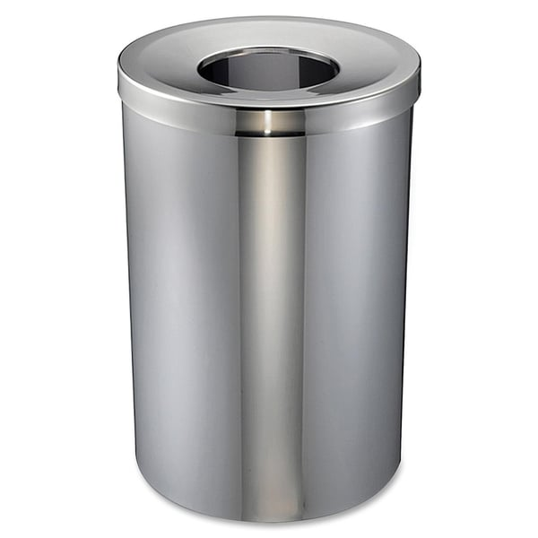 Genuine Joe Open Mouth Waste Receptacle