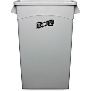 Genuine Joe Space-saving Waste Container (4 Each)