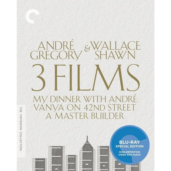 Andre Gregory & Wallace Shawn: 3 Films Collection Box Set (Blu-ray Disc) 15115131