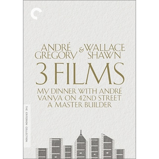 Andre Gregory & Wallace Shawn: 3 Films Collection Box Set (DVD) 15115132