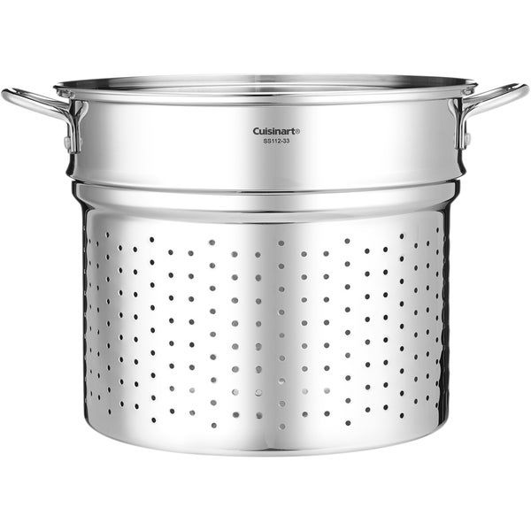 Chef's Classic 20-Quart Stainless Steel Steamer Insert