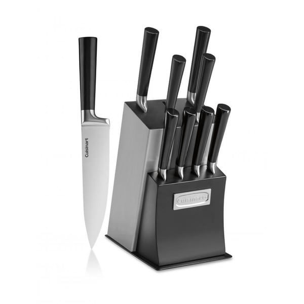 Classic 11-Piece Vetrano Collection Cutlery Knife Block Set