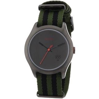 Nixon Men's A344-1151 'Quad' Green Nylon Watch