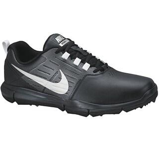 Nike Men's Explorer SL Black/Grey/Metallic Silver Golf Shoes
