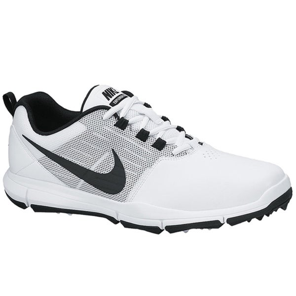 Nike Men's Explorer SL White/Pure Platinum/Black Golf Shoes