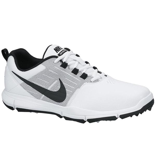 Nike Men's Explorer SL White/Pure Platinum/Black Golf Shoes