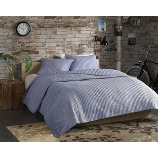 Madison Park ECO Weave Johnathan 3-piece Coverlet Set