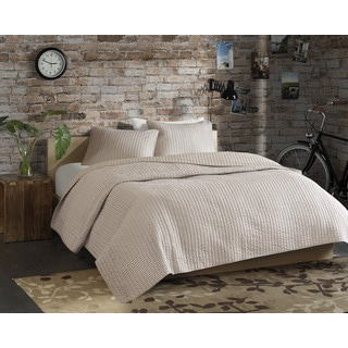 Madison Park ECO Weave Simon 3-piece Coverlet Set