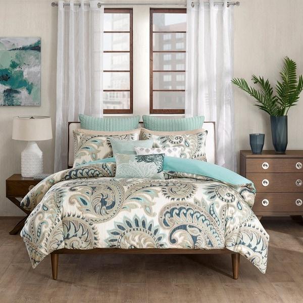 Ink Ivy Mira 3 Piece Cotton Comforter Mini Set 17160785