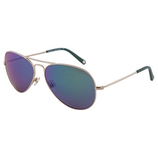 Michael Kors Women's M2066S Dylan Aviator Sunglasses