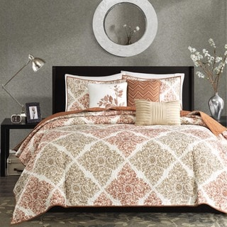 Madison Park Arista 6-Piece Quilted Coverlet Set