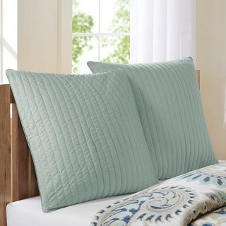 Ink+Ivy Camila Quilted Cotton Euro Sham