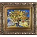 Vincent Van Gogh The Mulberry Tree Hand Painted Framed Canvas Art
