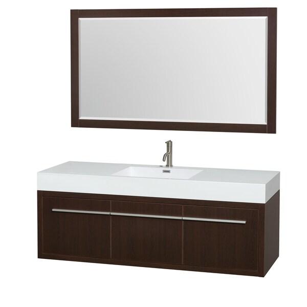 Inch Single Bathroom Vanity Acrylic Resin Top Integrated Sink  Inch