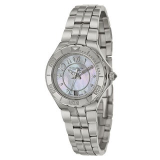 TechnoMarine Women's Sea Pearl Stainless Steel Swiss Quartz Watch